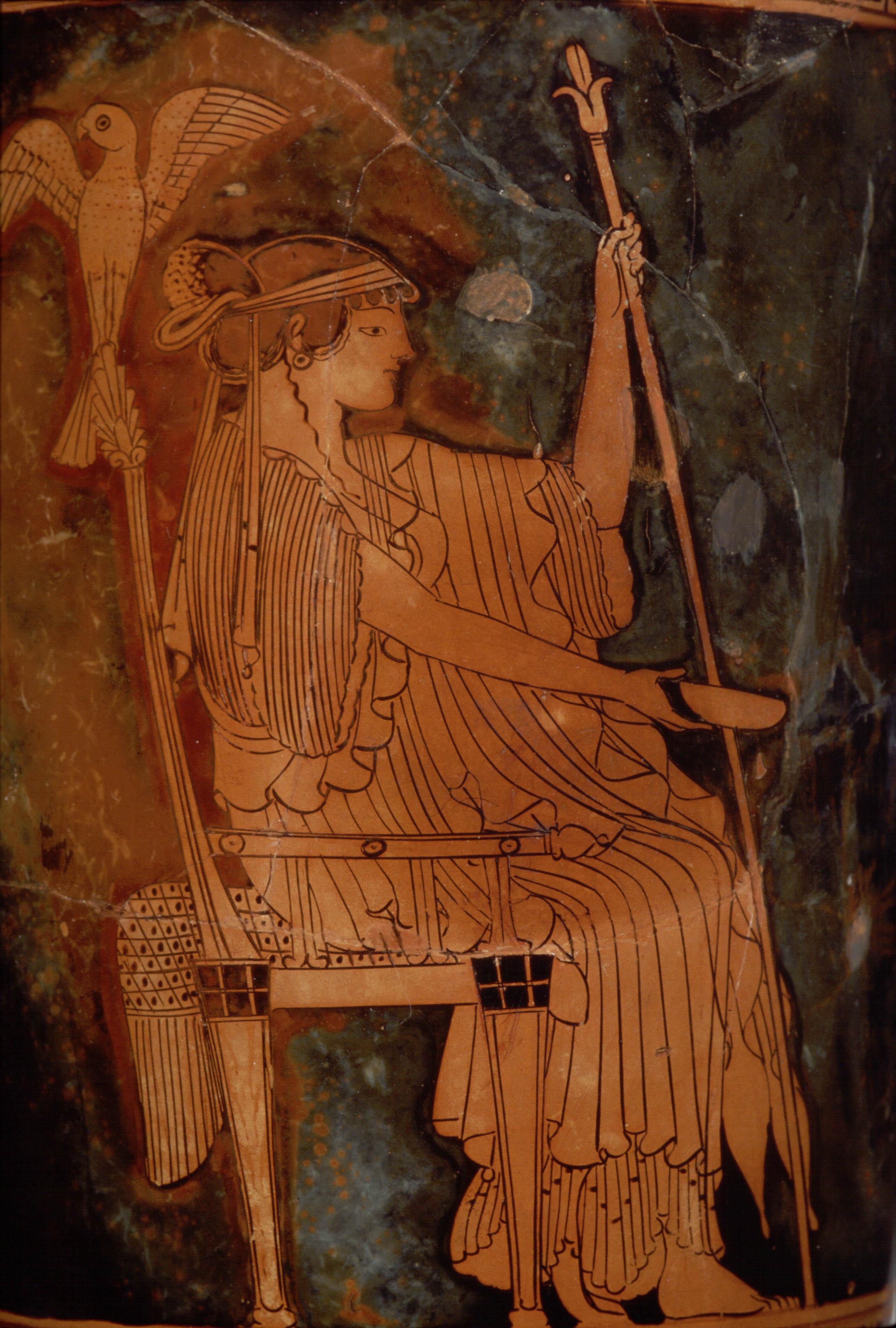 Hera ancient greek goddess of married women and queen of heaven hera seated risd 25078 biocorpaavc Gallery